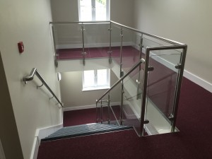 balustrade and hand rail system